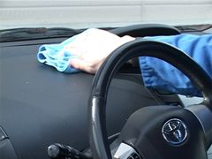 Treatment with CleverCOAT Car Interior