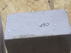 Super hydrofobic impregnation for concrete