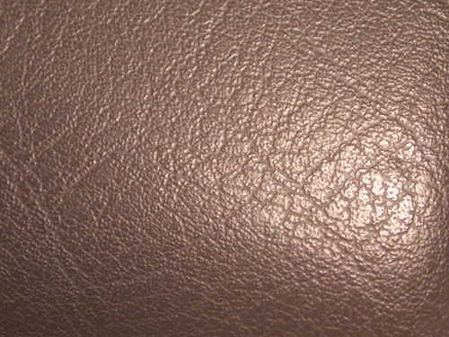 Car dashboard leather before protecting