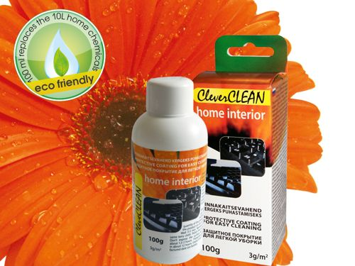 100g CleverCLEAN for home interior green product (click to go to product page)