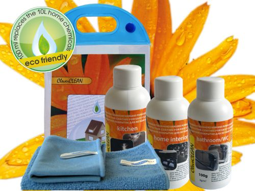 Nanoformula CleverCLEAN set. Bar code: 4742692000598 (click to open expanded picture)