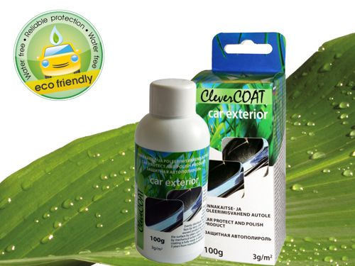 100g CleverCOAT auto care polish for car exterior (click to go to product page)