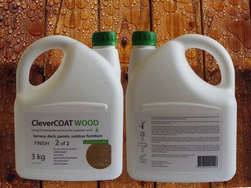 CleverCOAT wood finish. (click to open expanded picture)