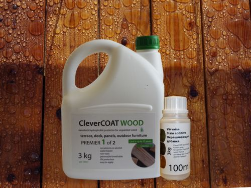 3kg CleverCOAT wood premier and stain additive bottle
