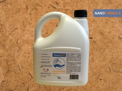 3l CleverSEPT Disinfectant. Bar-code: 4742692001526