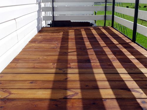 Woodshield terrace after premier nano wood protector
