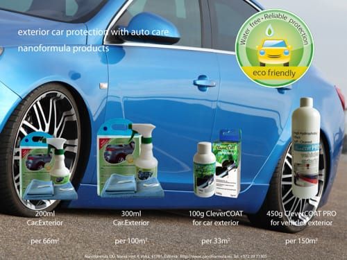 Car exterior protectve polishes (click to open high qiality pdf file)