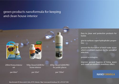 Easy to clean coatings for home interior (click to open high qiality pdf file)
