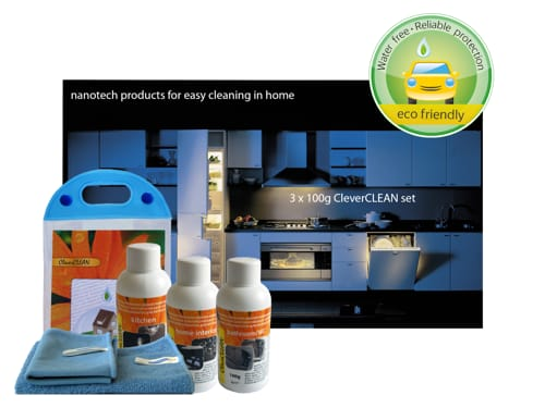 CleverCLEAN set for home care (click to open high qiality pdf file)