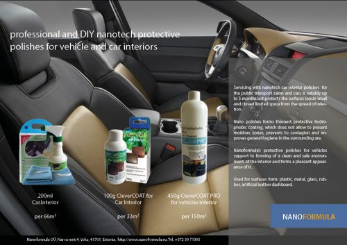 Car interior protectve polishes (click to open high qiality pdf file)