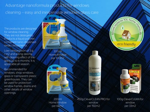 Easy to clean coatings for window